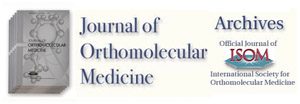 journal cover of orthomolecular psychiatry and medicine